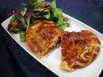 Chausson au jambon la recette facile par toqu s 2 cuisine for Cuisine 5582