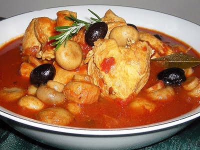 poulet 224 la proven 231 ale la recette facile par toqu 233 s 2 cuisine