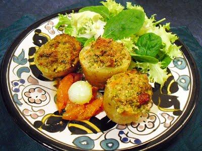 Pommes de terre farcies l 39 orientale la recette facile par toqu s 2 cuisine - Cuisine orientale facile ...