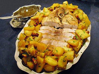 Rouelle de porc paysanne la recette facile par toqu s 2 for Idee repas convivial en famille