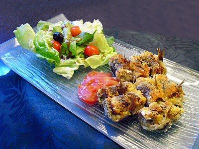Sardines farcies la recette facile par toqu s 2 cuisine - Comment cuisiner des filets de sardines ...