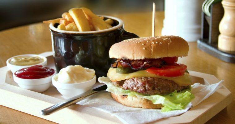 Hamburgers croustillants