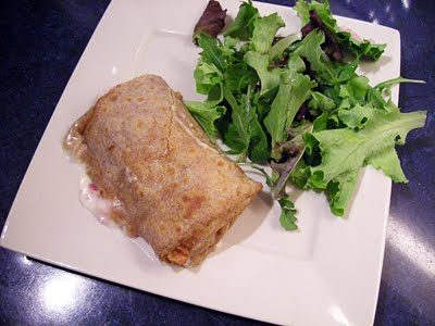 Crêpes jambon fromage