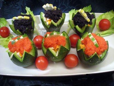Avocats au surimi et oeufs de lumps la recette facile for Entrees faciles originales
