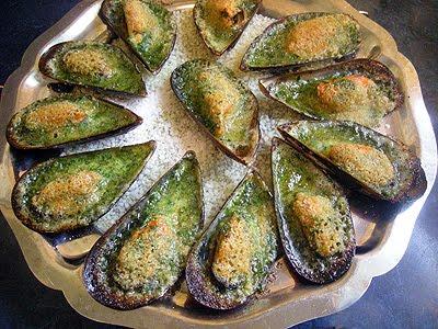 moules farcies - la recette facile par toqués 2 cuisine
