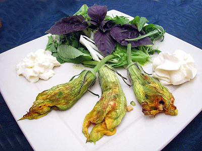 Fleurs de courgettes farcies au saumon la recette facile par toqu s 2 cuisine - Fleurs de courgettes farcies ...