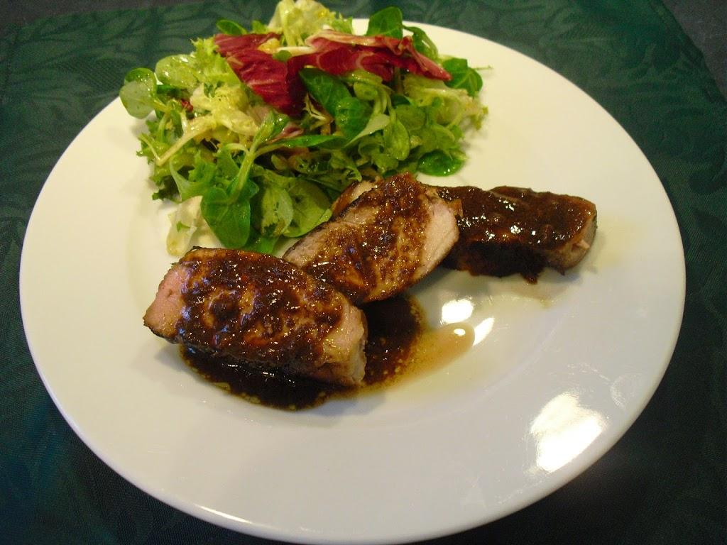 Rouelle de gigot et ratatouille all g e la plancha la - Cuisiner rouelle de porc ...