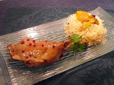 Cuisses de canard confites au four la recette facile par toqu s 2 cuisine - Recette de cuisse de canard en sauce ...