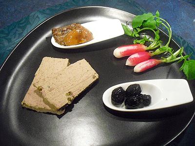 terrine de foies de volaille aux c pes et poivre vert la recette facile par toqu s 2 cuisine. Black Bedroom Furniture Sets. Home Design Ideas