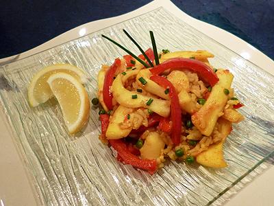 Calamars au riz la recette facile par toqu s 2 cuisine for Entrees faciles et pas cheres