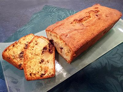 cake aux poires la recette facile par toqu s 2 cuisine. Black Bedroom Furniture Sets. Home Design Ideas