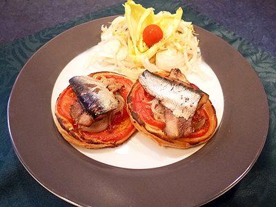 Tartes aux sardines