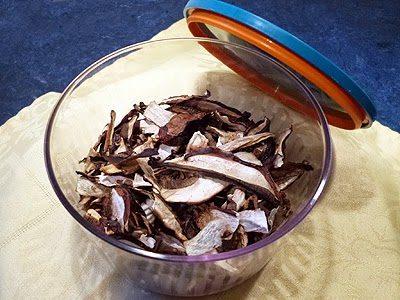 Comment sécher les cèpes et bolets