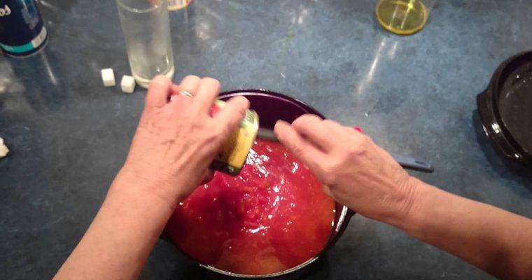 Sauce tomate facile au micro-ondes (vidéo)