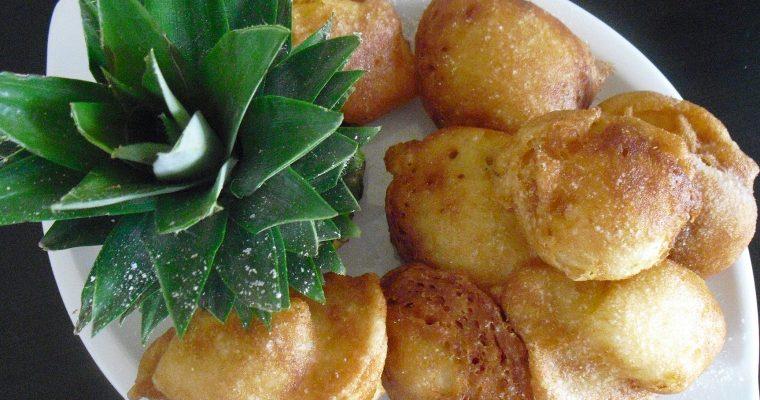 Beignets ananas