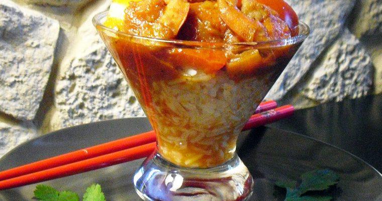 Crevettes façon Thaï