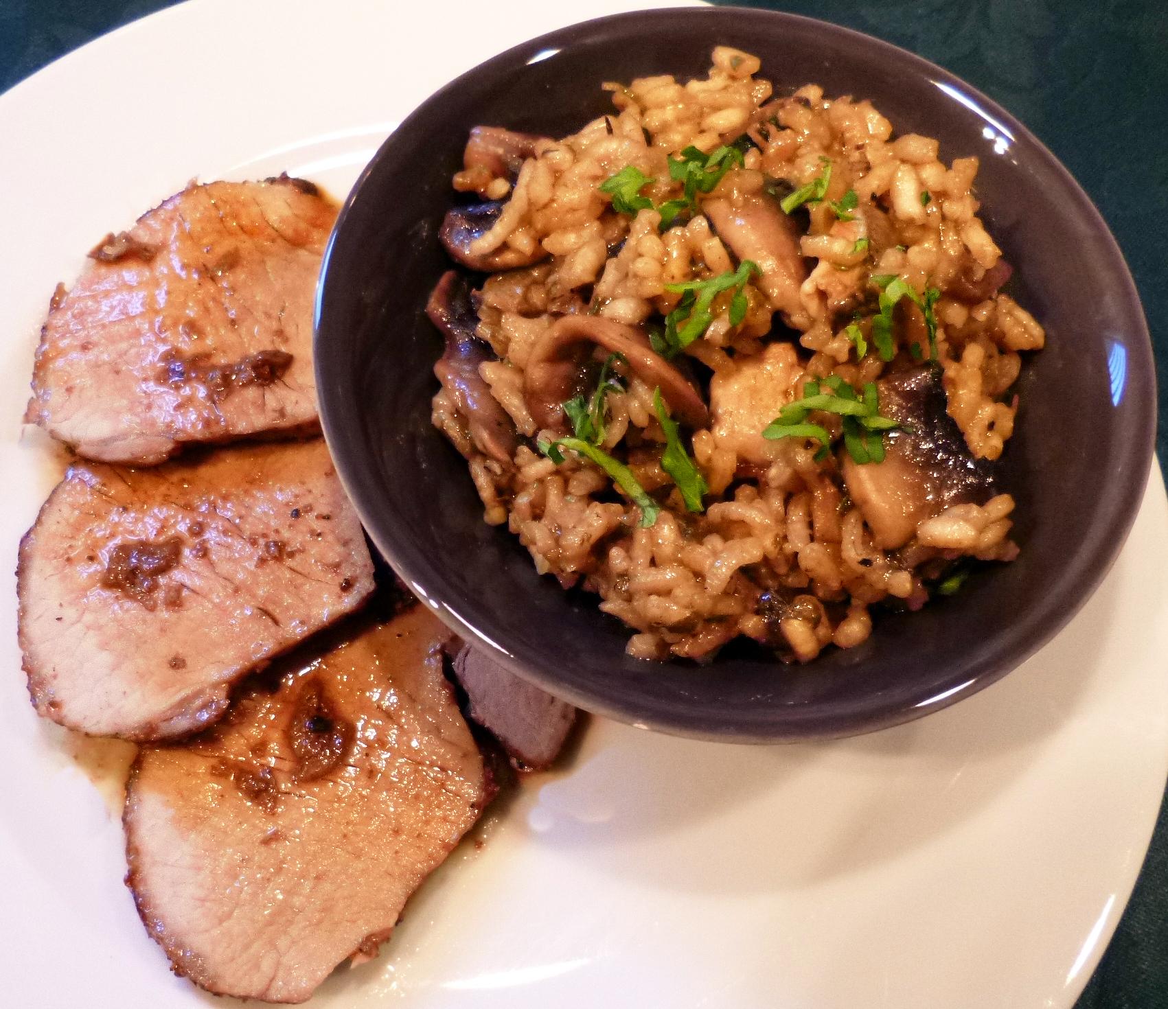R ti de porc au chorizo la recette facile par toqu s 2 - Cuisiner roti de porc ...