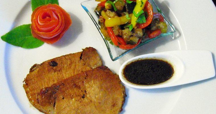 Rôti de porc au poivre de Sichuan