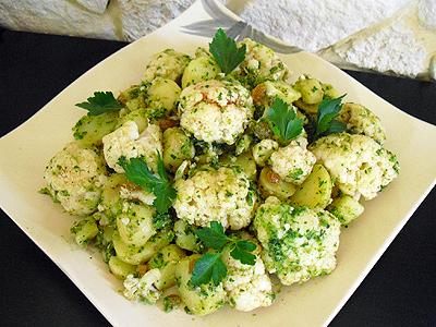 salade de chou fleur la recette facile par toqu s 2 cuisine. Black Bedroom Furniture Sets. Home Design Ideas