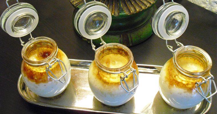 Crème vanille et noix de coco
