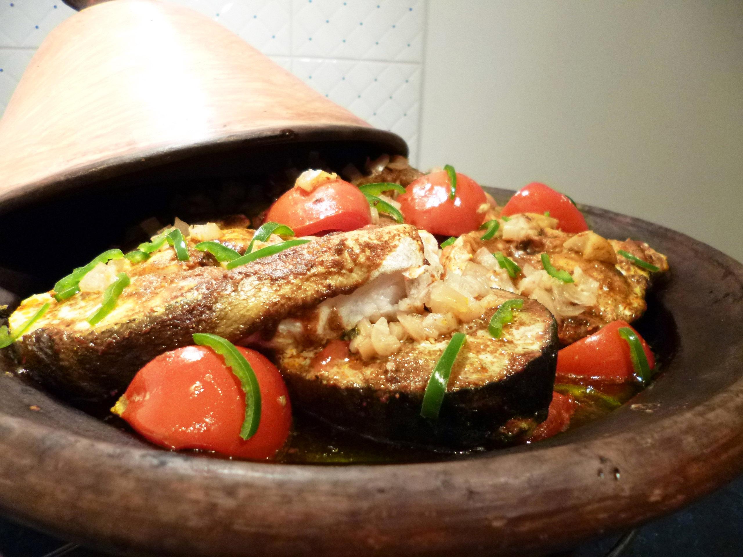 Tajine de poisson la recette facile par toqu s 2 cuisine - Cuisine poisson facile ...