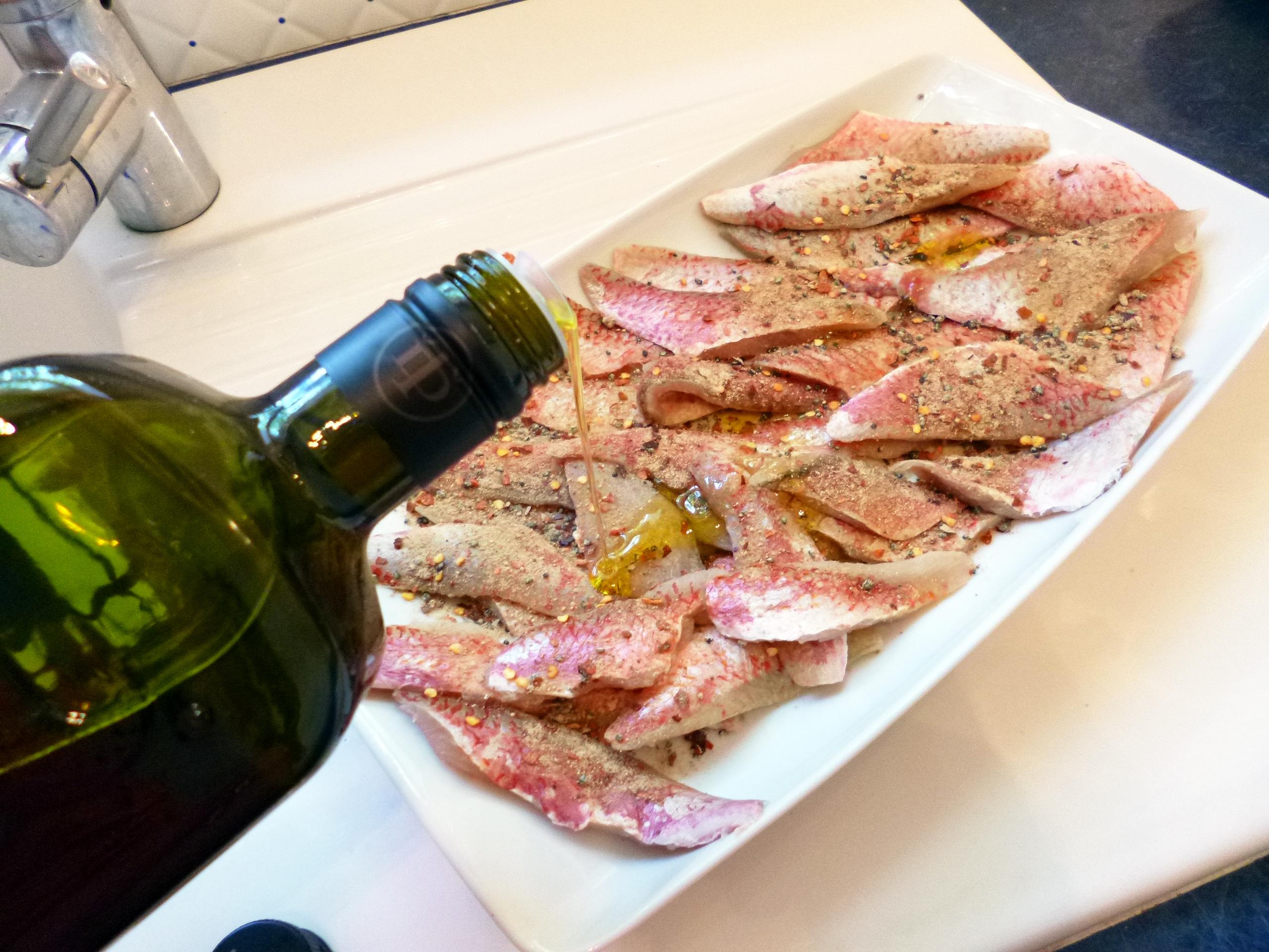 Filets de rouget la plancha la recette facile par for La cuisine a la plancha