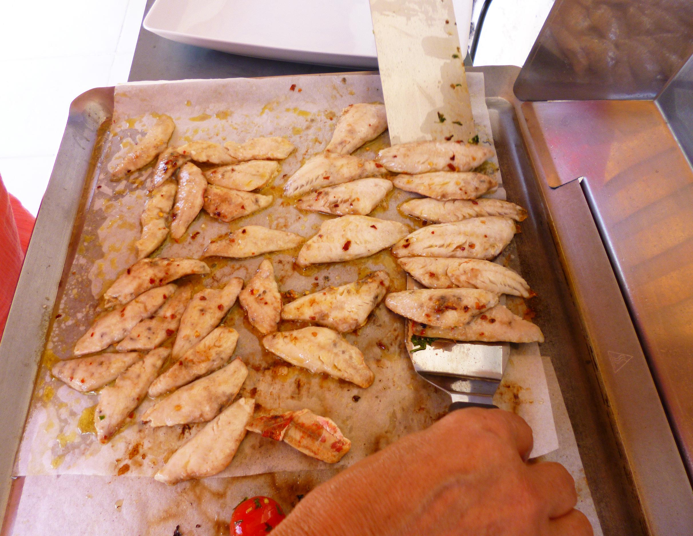 Filets de rouget la plancha la recette facile par for Que cuire a la plancha