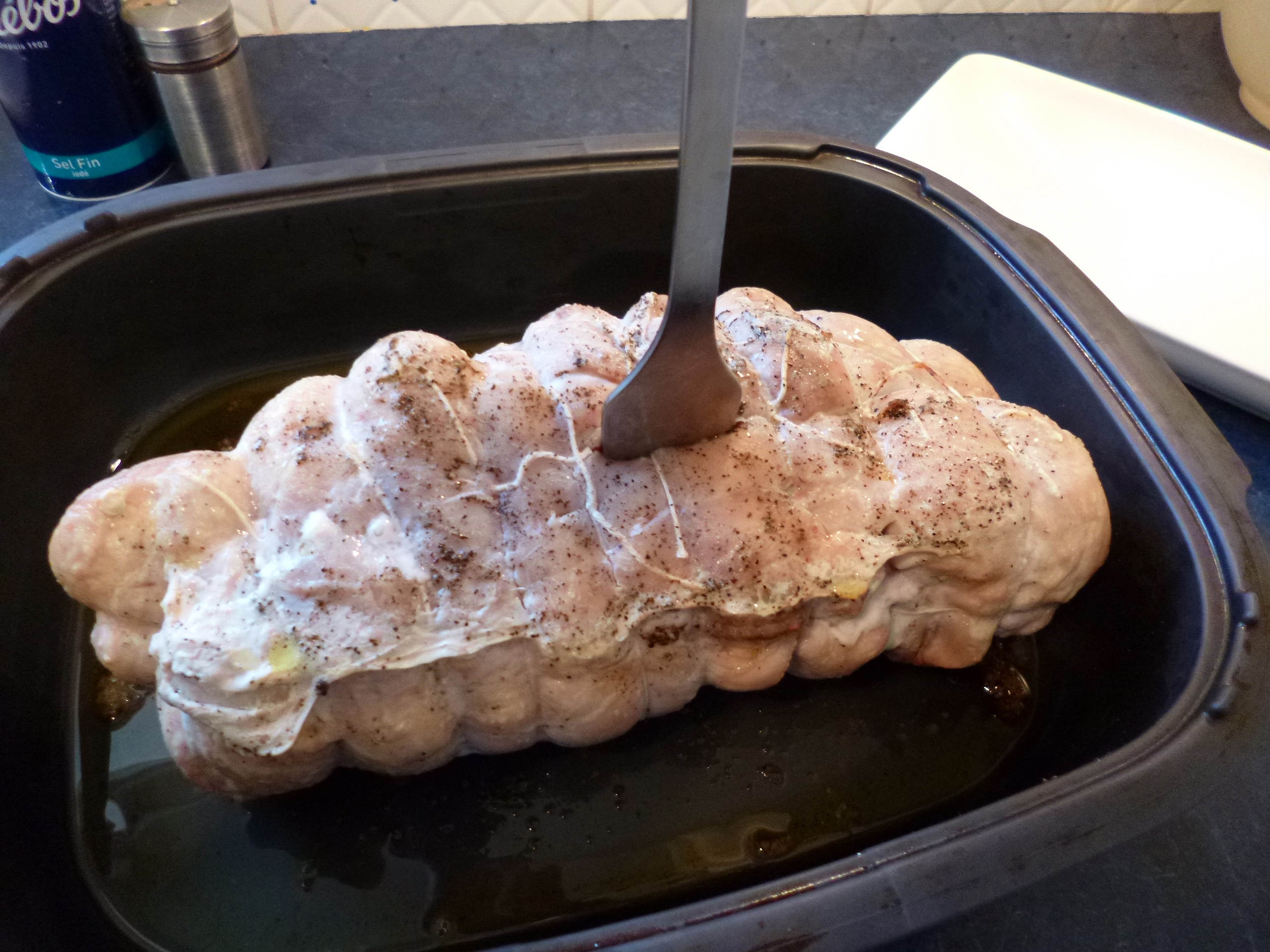 R ti de dinde congel temps de cuisson la recette - Cuisiner un roti de dinde ...