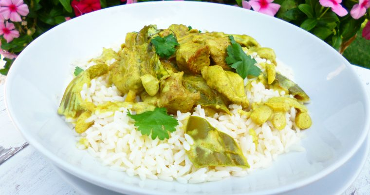 Porc au curry