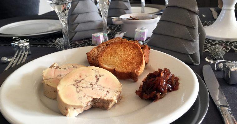 Foie gras sans cuisson aux épices douces