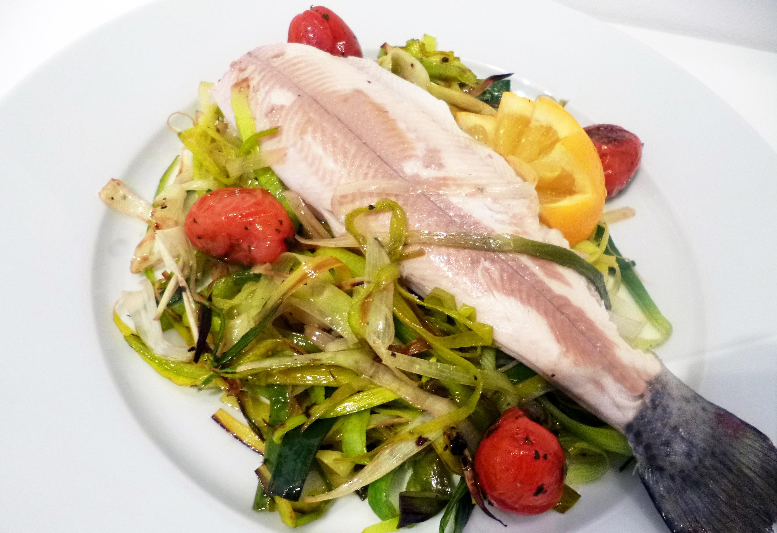 Truites la plancha la recette facile par toqu s 2 cuisine - Faire une plancha entre amis ...