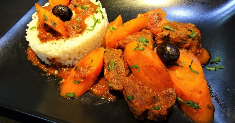 Bœuf carottes au Micro Minute
