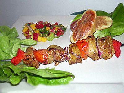 Brochettes d'agneau aux épices
