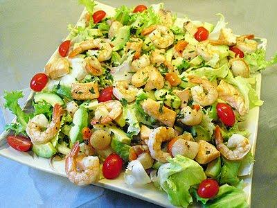salade marine la recette facile par toqu s 2 cuisine. Black Bedroom Furniture Sets. Home Design Ideas