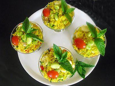 Salade de boulgour aux agrumes