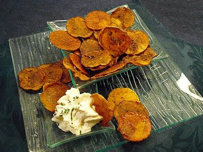 Chips de potiron