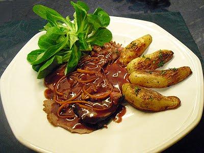 Chevreuil sauce grand veneur la recette facile par toqu s 2 cuisine - Cuisiner epaule de chevreuil ...