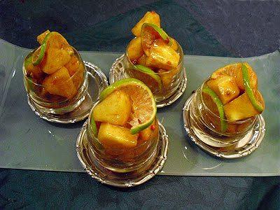 Ananas au rhum