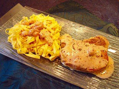 C tes de porc la moutarde la recette facile par toqu s 2 cuisine - Recette paupiette de porc facile ...