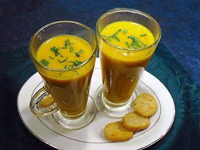 Soupe potimarron patates douces