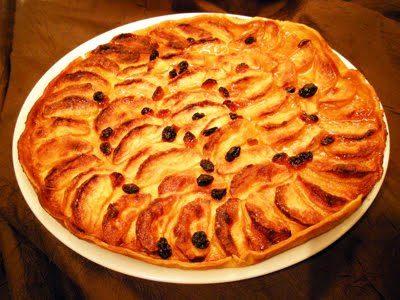 Tarte aux pommes et Grand-Marnier