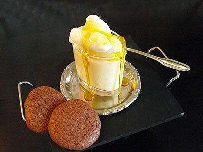 Iles flottantes vanille safran