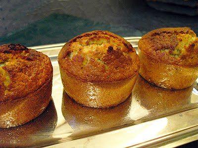 Muffins noix de coco pistaches
