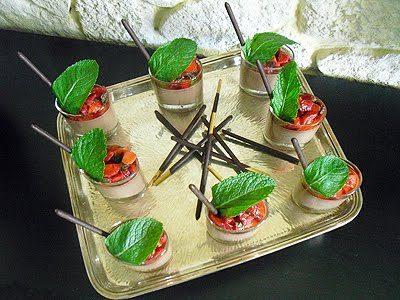 Panna cotta chocolat fraises