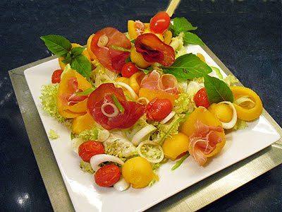 Salade De Melon A L Italienne La Recette Facile Par Toques 2 Cuisine