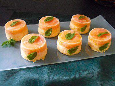 Mousse glacée aux abricots