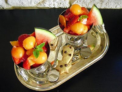 Salade super fruits