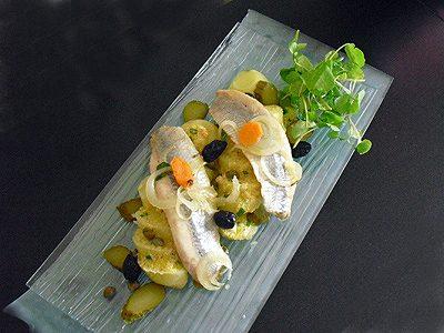 Salade pommes de terre et harengs fumés