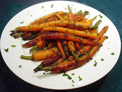 Carottes confites la recette facile par toqu s 2 cuisine - Cuisiner des carottes a la poele ...