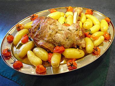 Epaule d 39 agneau au four la recette facile par toqu s 2 - Cuisiner le lapin au four ...